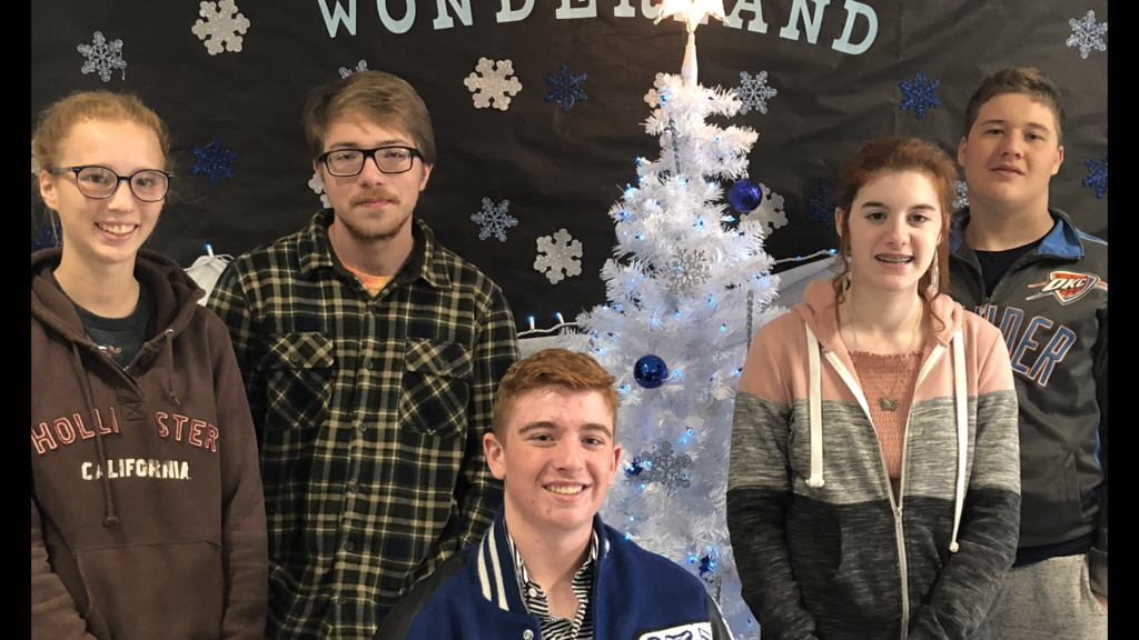 HS December Students of the Month