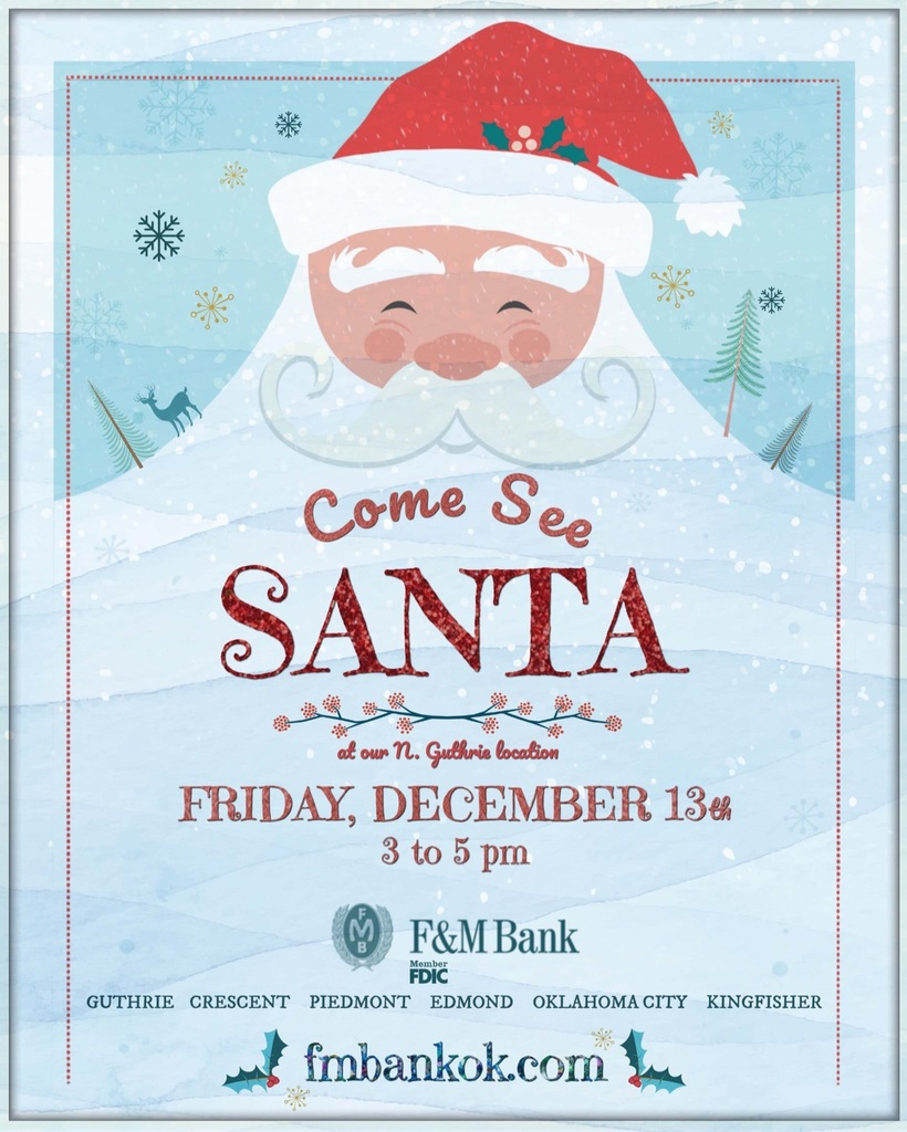 F&M Bank Santa Flyer