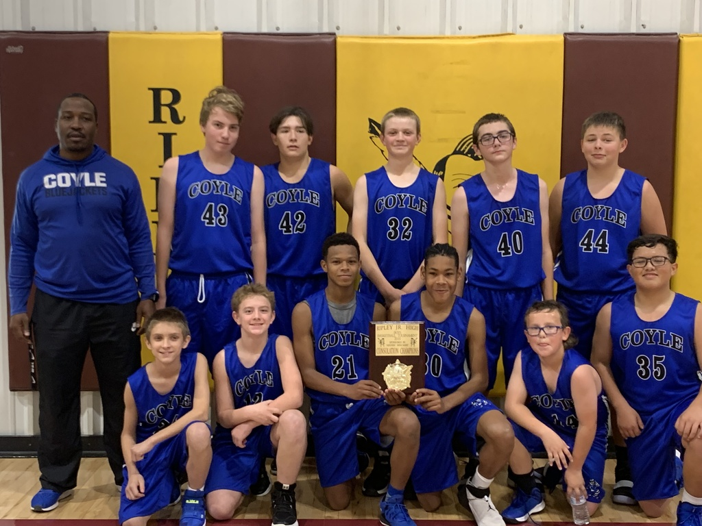 Coyle JH Basketball Consolation Championship Ripley Tournament